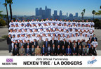 Nexen Tire continues its partnership agreements with four Major League Baseball (MLB) teams including the LA Dodgers for the 2015 baseball season.
