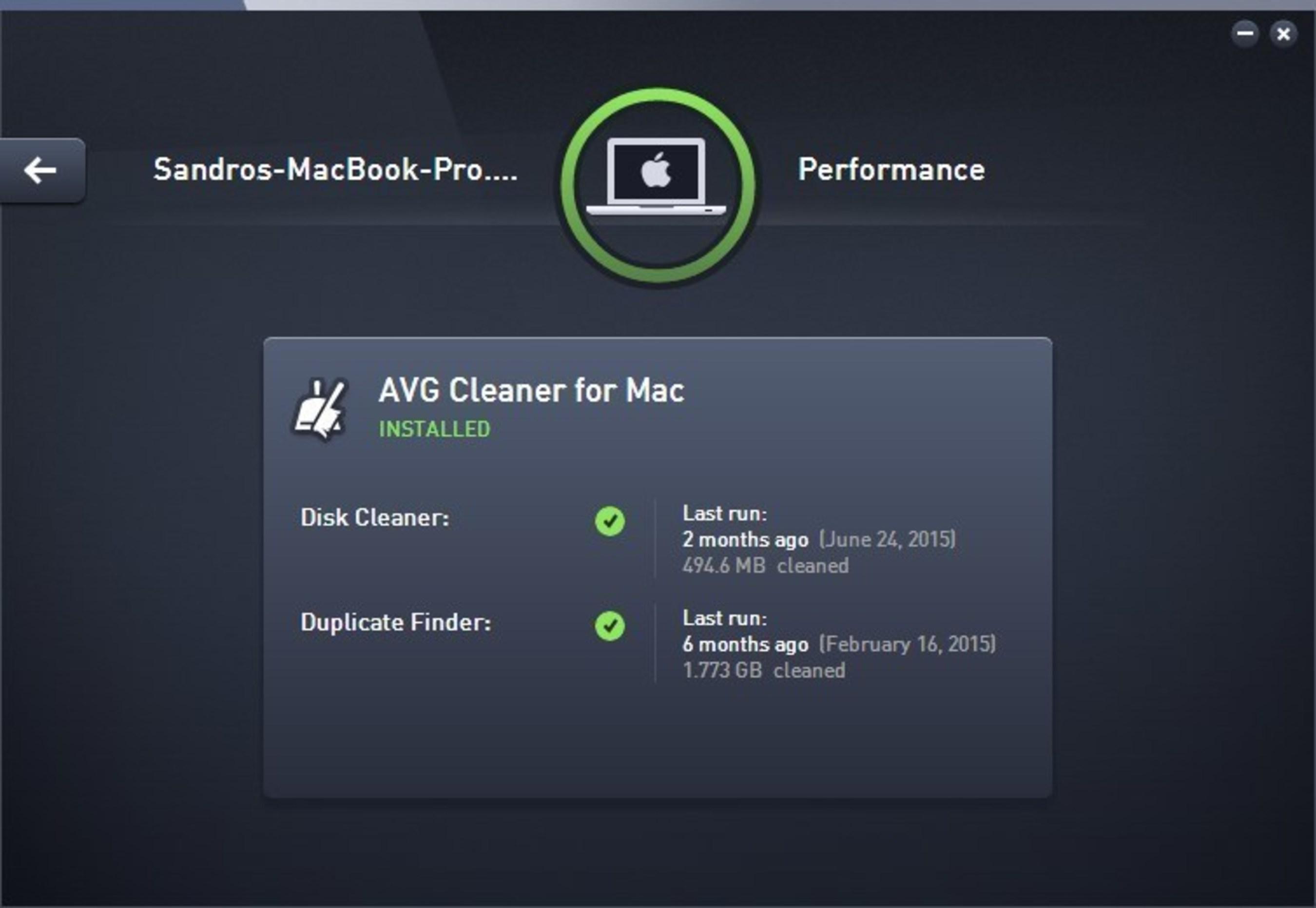 avg computer performance