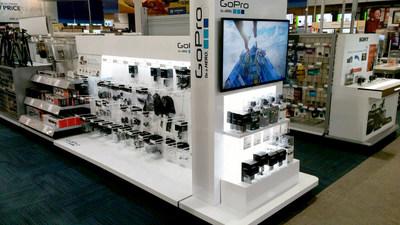 Best Buy GoPro End Cap