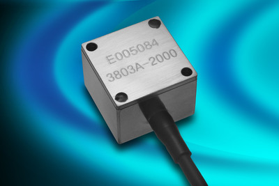 New Triaxial DC Accelerometer from Measurement Specialties Withstands High Shock to More Than 5,000 g.  (PRNewsFoto/Measurement Specialties)
