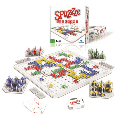 GameBrotherZ, the Canadian manufacturer of popular board games, has chosen the American International Toy Fair in New York City (Booth #6363) to introduce its latest innovation on the North American market: Spuzzle Strategy. (MSRP:C$34.95)