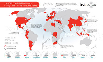 2015 BSI SCREEN Global Intelligence - Supply Chain Threats, Risks, and Trends