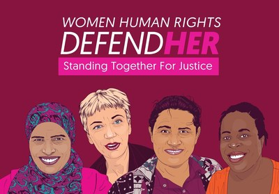 The Women Human Rights DefendHer campaign features original illustrations of the fourteen women activists and groups featured.