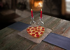 Michigan-based Jet's Pizza will offer heart-shaped pizzas Feb. 13-14, 2015 at participating stores nationwide.