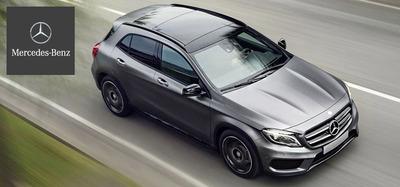 The 2015 Mercedes-Benz GLA.  (PRNewsFoto/Loeber Motors)