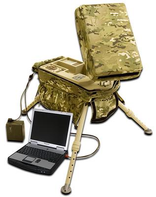Windmill International, Inc. KA-10 Suitcase Portable Receive Suite (SPRS).  (PRNewsFoto/Windmill International, Inc.)