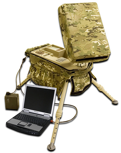 Windmill International, Inc. KA-10 Suitcase Portable Receive Suite (SPRS).  (PRNewsFoto/Windmill International,  ...