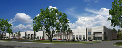 This 168,000 SF warehouse is under construction in Tampa an is one of the sponsors. The building will be completed early in 2017.