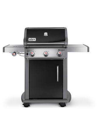Wow Dad this Fathers' Day with the Weber Spirit E-320 Gas Grill.  This Power House Grill Features Three Stainless Steel Burners Plus a Side Burner for Maximum Versatility.  Visit www.weber.com for a Dealer in Your Area.