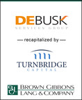 Brown Gibbons Lang & Company (BGL), a leading middle market investment bank, is pleased to announce the recapitalization of Debusk Services Group, LLC (Debusk) by Turnbridge Capital Partners along with management founders and current investors.  BGL's Environmental & Industrial Services team served as a financial advisor to Debusk in the transaction. Debusk is a best-in-class mechanical and industrial cleaning services provider primarily serving domestic refining and petrochemical facilities.