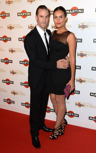 Joseph Fiennes and wife Maria Dolores DieguezMARTINI© CELEBRATES 150 YEARS OF ITALIAN STYLE AT GLITTERING ...