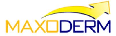 Maxoderm logo.  (PRNewsFoto/Maxoderm)