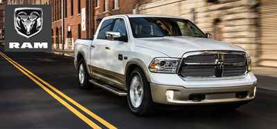 The demand for the 2014 Ram 1500 EcoDiesel will be difficult to keep up with.  (PRNewsFoto/Medved Autoplex)