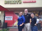 Angela Pasten, Chris James and Jane Wabbs have partnered to open Dickey's Barbecue Pit in Irvine