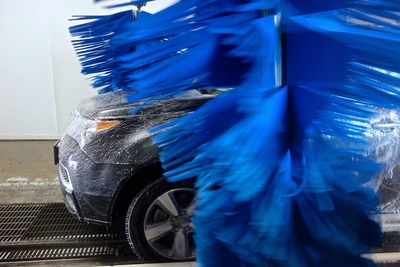 A soft cloth car wash from Quick Quack is safer on your car than hand-washing. (PRNewsFoto/Quick Quack Car Wash)