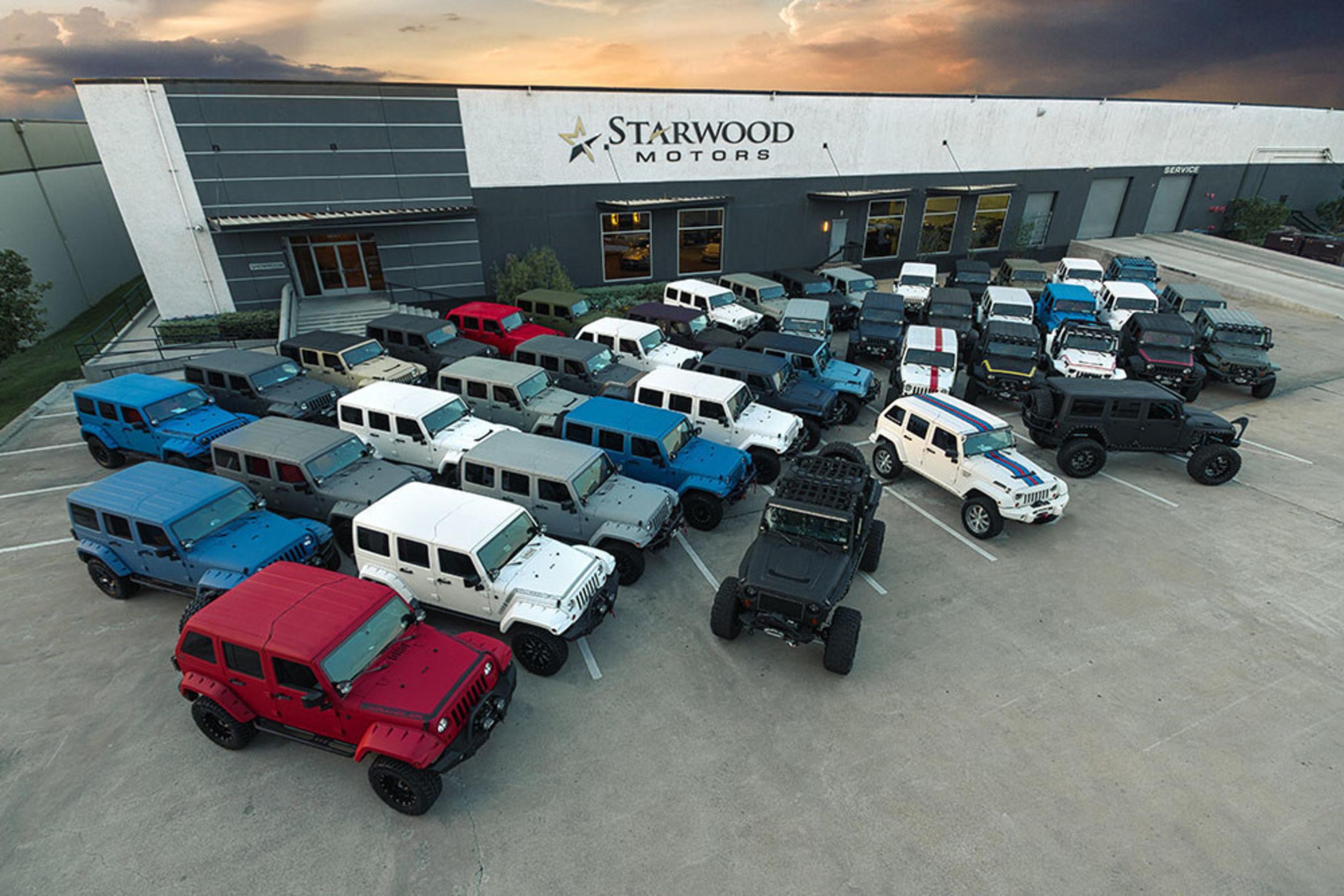 Starwood Motors Custom Jeeps. Dallas, TX