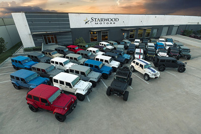 Starwood Motors Custom Jeeps. Dallas, TX