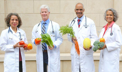 The Kickstart Your Health Atlanta medical team (left to right): Jennifer Rooke, M.D., M.P.H., Neil Cooper,M.D., Reginald Mason, M.D., and Karen Goodlett, M.D.