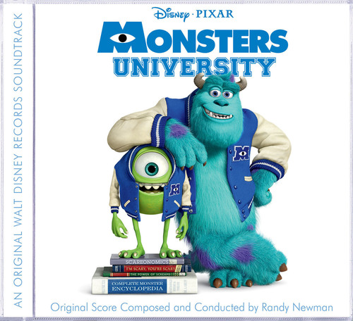 Monsters University Soundtrack.  (PRNewsFoto/Walt Disney Records)