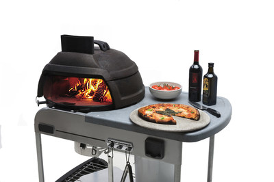 The Relic, a modular and portable brick pizza oven, sets up quickly on both flat outdoor surfaces or on a favorite 22'' Weber(TM) Grill, bringing the joy of brick oven cooking to new places and new audiences.