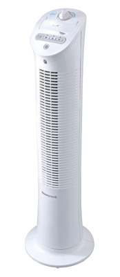 Odors and Stagnant Air Beware: Honeywell Fans and Febreze Join Forces on New Dual-Action Tower Fan.  (PRNewsFoto/Kaz)