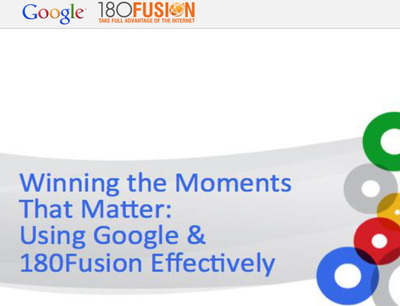 180Fusion and Google Co-Host Sold Out Search Engine Marketing Seminar.  (PRNewsFoto/180Fusion)