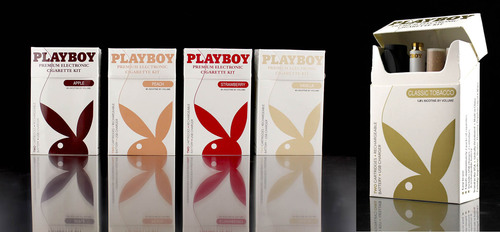 Playboy To Launch Premium Vapor Collection.  (PRNewsFoto/Playboy Enterprises, Inc.)