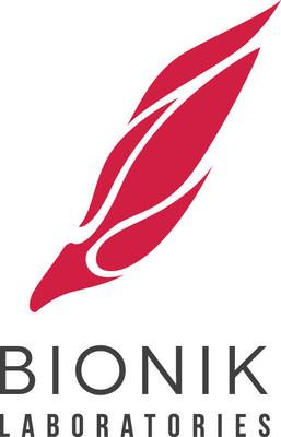 Bionik Laboratories Corp. logo (PRNewsFoto/Bionik Laboratories Corp.)