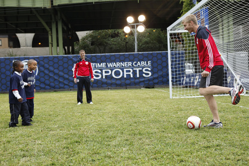 'Operation Community Cup' Partners Unveiled Revitalized FC Harlem Soccer Field at Riverside Park