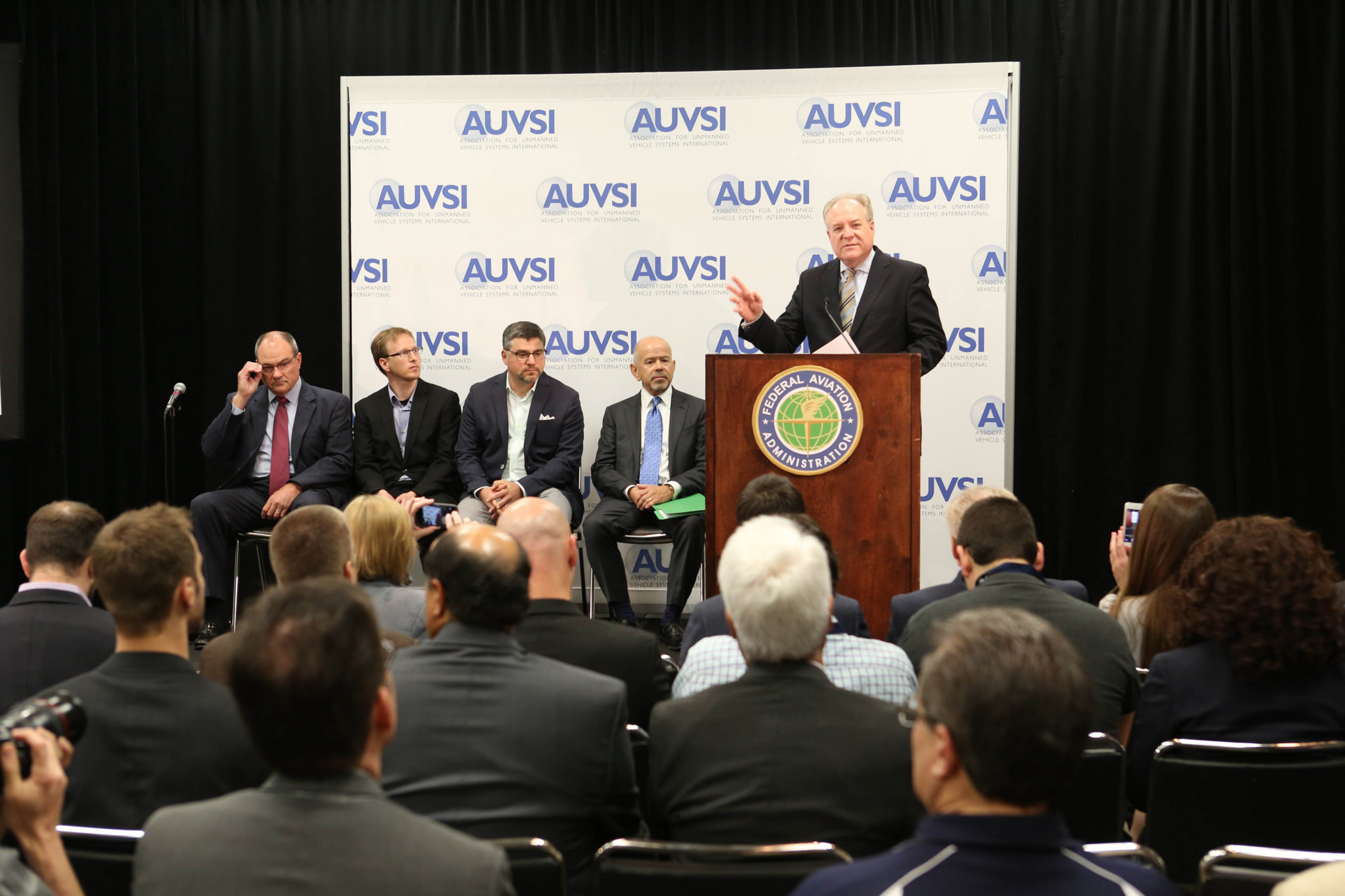 At last year's conference, FAA Administrator Michael Huerta made several important announcements regarding the advancement of integrating UAS into the national airspace, including the development of an airspace data app and a the Pathfinder research program for expanded operations.