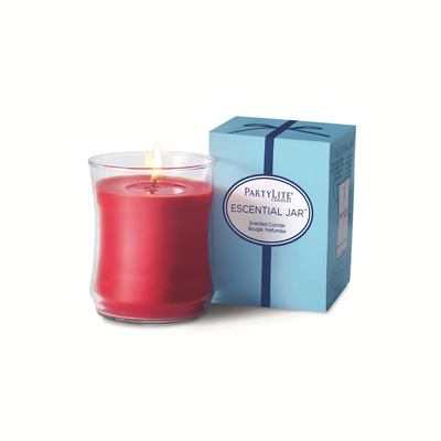 The NEW Escential Jar[TM] Candle, a re-designed classic!
