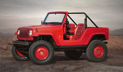 "Jeep(R) ""Shortcut"" Concept is one of seven vehicles built for 50th Annual Easter Jeep Safari in Moab, Utah"