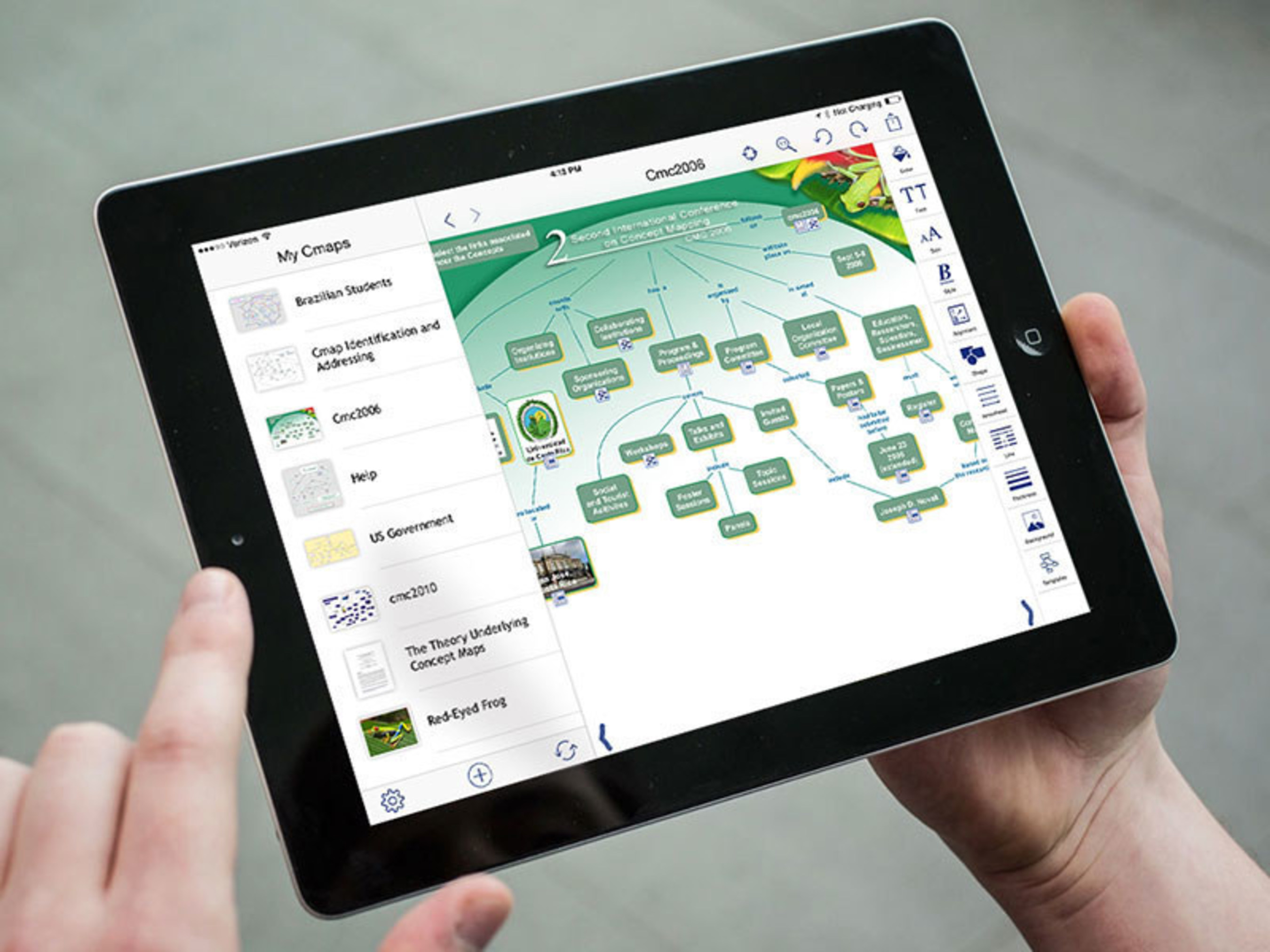 CmapTools iPad App Now Available Supporting Millions of Cmap Users