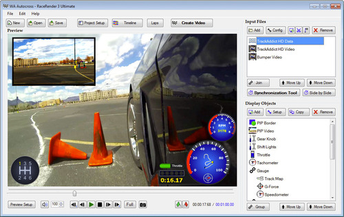 RaceRender Software Brings High-Tech Data Overlays to Action