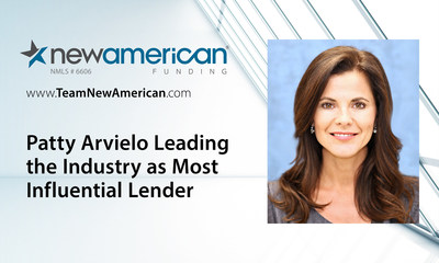 L.A. Business Journal Names New American Funding's Patty Arvielo a Most Influential Lender.