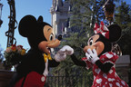 Mickey Mouse and Minnie Mouse Celebrate Valentine's Day at Walt Disney World Resort in Lake Buena Vista, Fla.