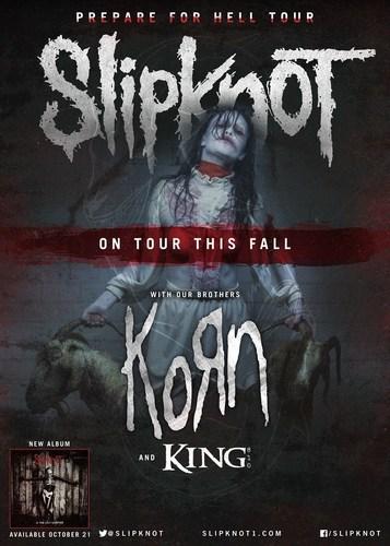 SLIPKNOT ANNOUNCES NORTH AMERICAN TOUR. (PRNewsFoto/Live Nation Entertainment)