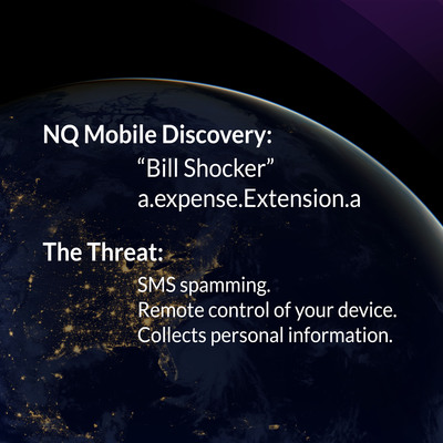 NQ Mobile Discovers and Inoculates Major Threat. (PRNewsFoto/NQ Mobile Inc.) (PRNewsFoto/NQ MOBILE INC_)