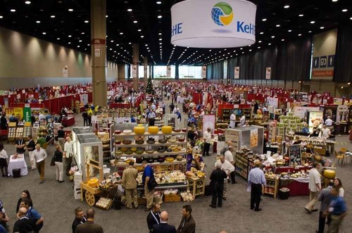 KeHE's 2014 Holiday Show saw a 25% increase in exhibitor booths, and a 20% increase in retailer customer attendance, making this KeHE's largest buying event to date. (PRNewsFoto/KeHE Distributors)