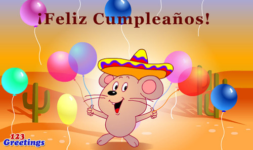 123Greetings Launched Spanish Chinese Russian Hindi Ecards – Spanish Birthday Cards