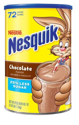 Nestle USA Announces Voluntary Recall of NESQUIK® Chocolate Powder