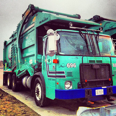 Autocar CNG trucks are the only relevant tool for the waste collection industry. (PRNewsFoto/GVW Group) (PRNewsFoto/GVW GROUP)