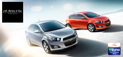 J.H. Barkau & Sons has a large selection of used Chevrolet vehicles in stock.  (PRNewsFoto/J.H. Barkau & Sons)