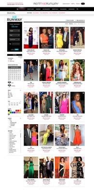 Rent the Runway Revolutionizes E-commerce by Turning Customers into Models.  (PRNewsFoto/Rent the Runway)
