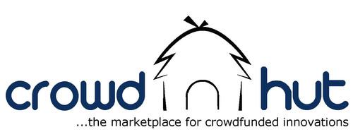 CrowdHut, the platform for crowdfunded innovations. Company Logo.  (PRNewsFoto/CrowdHut)