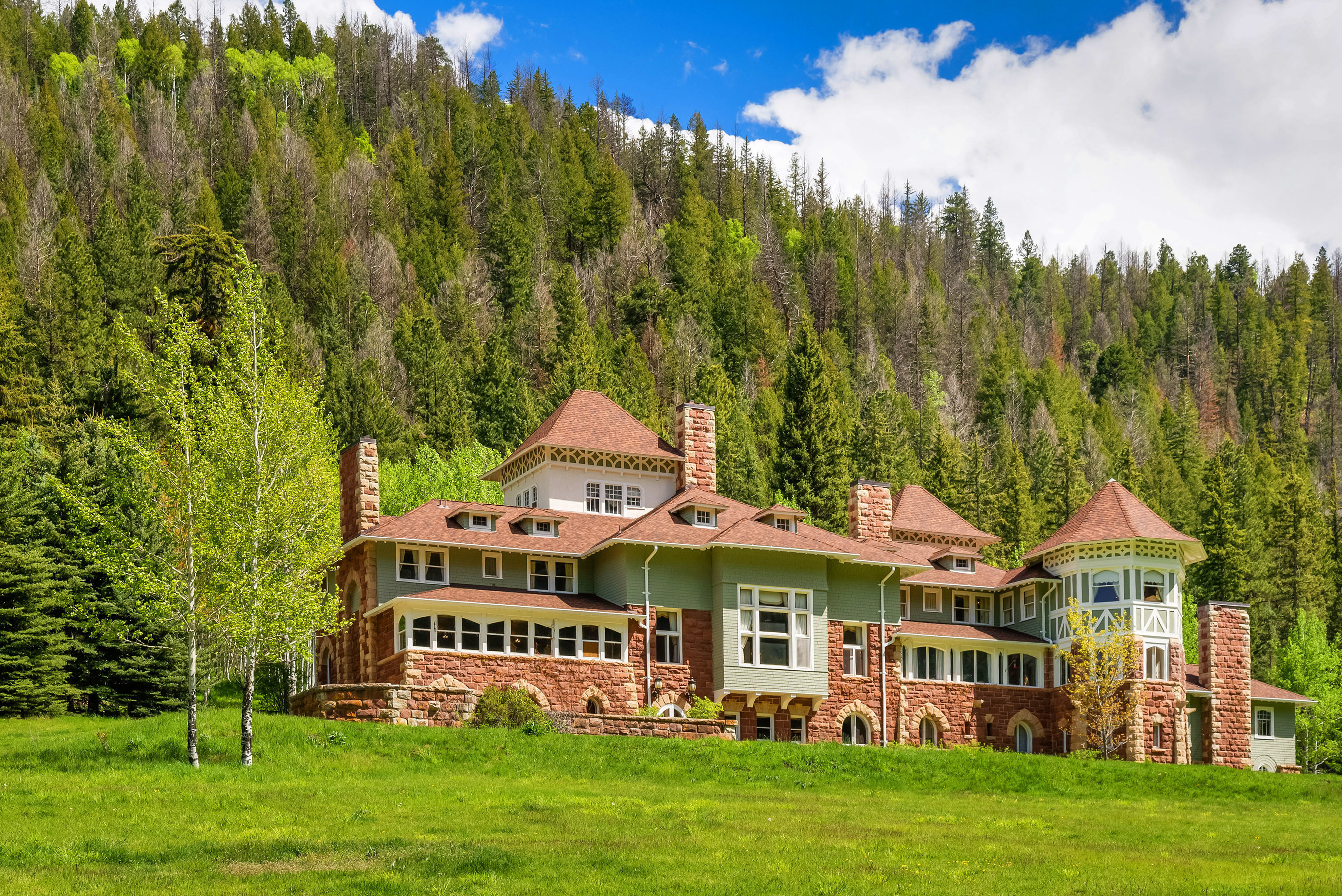 Colorado's Historic Redstone Castle Sold by Platinum Luxury Auctions
