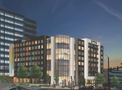 Noble Investment Group  and IHG(R) today announced a joint venture to develop a dual-branded EVEN(R) Hotels and Staybridge Suites(R) hotel in downtown Seattle.