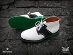 #Heineken100 Mark McNairy White Chukka Saddle Boot.  (PRNewsFoto/HEINEKEN USA Inc.)