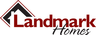 Landmark Homes logo.  (PRNewsFoto/Landmark Homes)