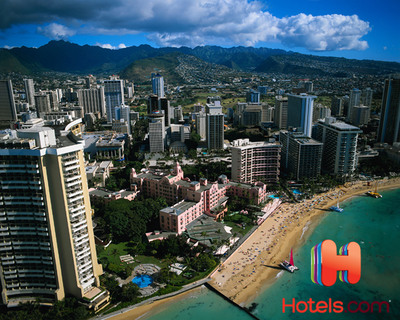 Honolulu Surpasses New York City as Most Expensive U.S. Market According to Hotels.com Hotel Price Index.  (PRNewsFoto/Hotels.com)
